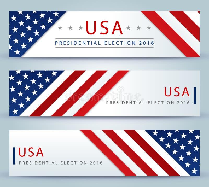 ΑΜΕΡΙΚΑΝΙΚΕΣ προεδρικές εκλογές - πρότυπο απεικόνιση αποθεμάτων