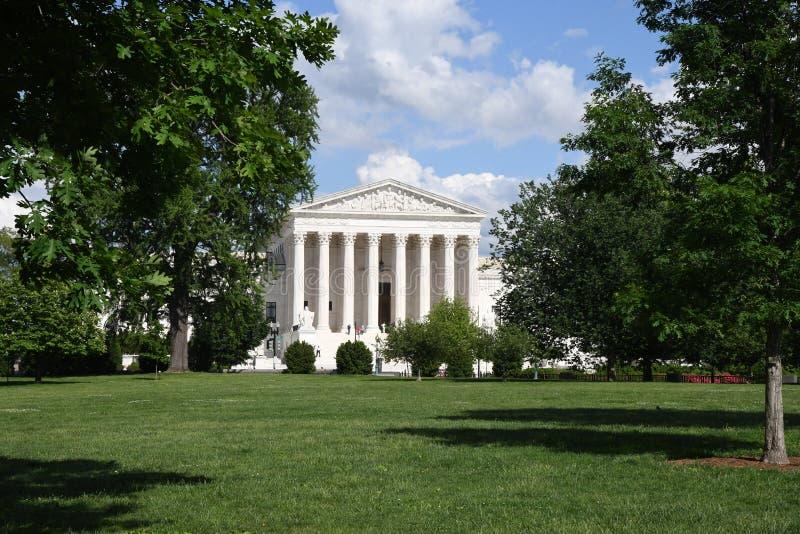 ΑΜΕΡΙΚΑΝΙΚΟ ΑΝΩΤΑΤΟ ΔΙΚΑΣΤΗΡΙΟ ΣΤΟ WASHINGTON DC ΗΠΑ στοκ φωτογραφία με δικαίωμα ελεύθερης χρήσης