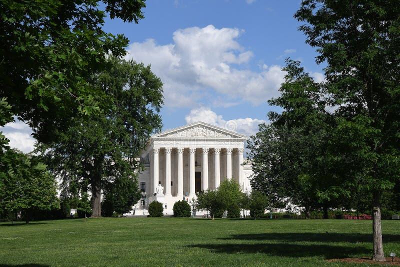 ΑΜΕΡΙΚΑΝΙΚΟ ΑΝΩΤΑΤΟ ΔΙΚΑΣΤΗΡΙΟ ΣΤΟ WASHINGTON DC ΗΠΑ στοκ εικόνα