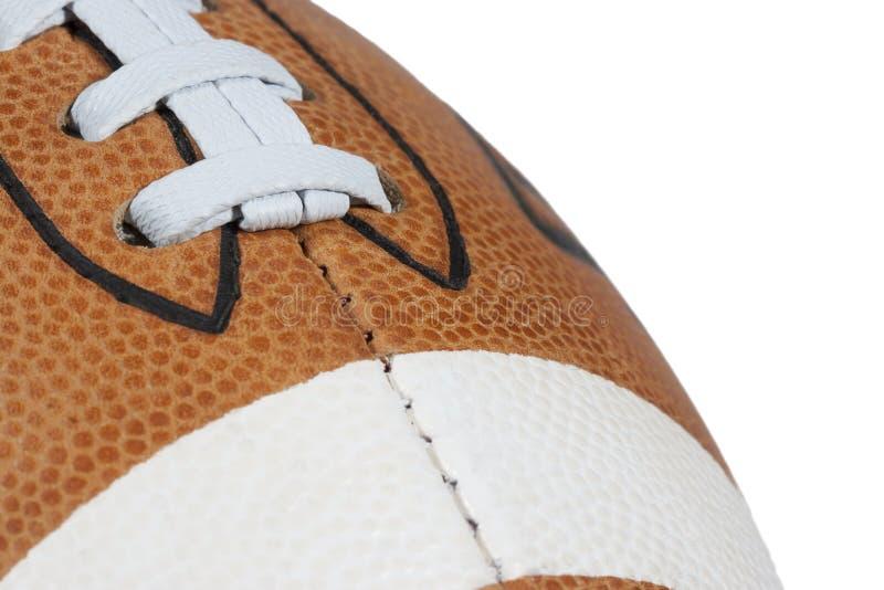 ΑΜΕΡΙΚΑΝΙΚΟ ποδόσφαιρο δέρματος στοκ εικόνα με δικαίωμα ελεύθερης χρήσης