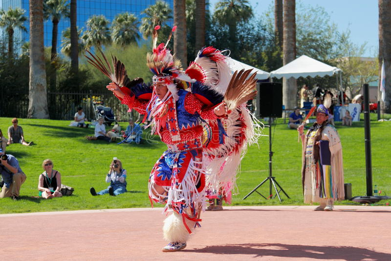 Αμερικανικός ινδικός χορός αετών στοκ φωτογραφία με δικαίωμα ελεύθερης χρήσης