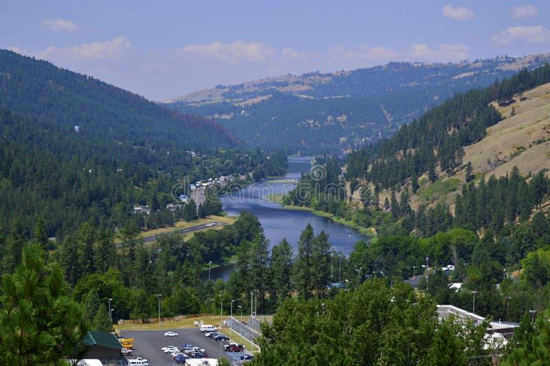 Αμερικανικός μεγάλος ποταμός στοκ εικόνες
