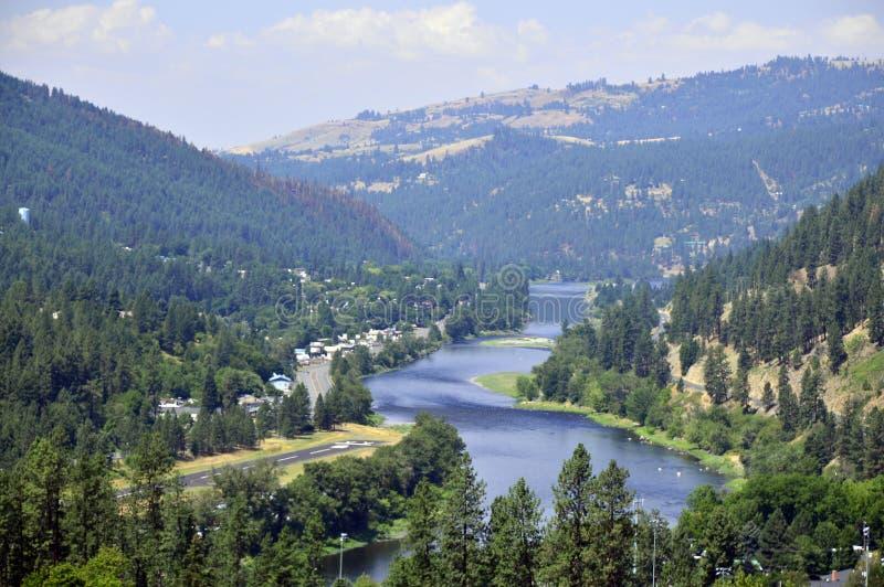 Αμερικανικός μεγάλος ποταμός στοκ φωτογραφία με δικαίωμα ελεύθερης χρήσης