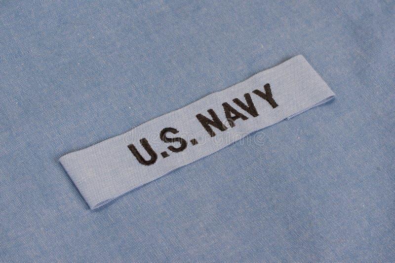 Αμερικανικός Ναυτικό ομοιόμορφο στοκ φωτογραφίες