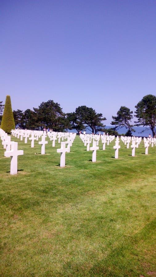 Αμερικανικός παγκόσμιος πόλεμος νεκροταφείων στοκ εικόνες με δικαίωμα ελεύθερης χρήσης