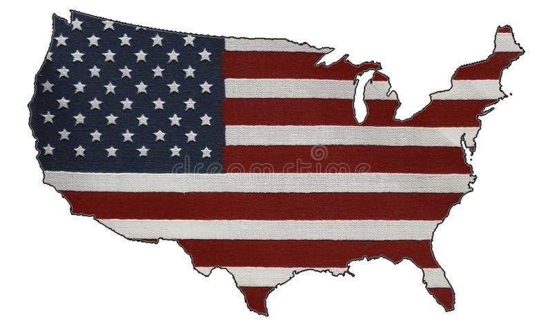 αμερικανικός πατριωτισμό& στοκ εικόνα με δικαίωμα ελεύθερης χρήσης