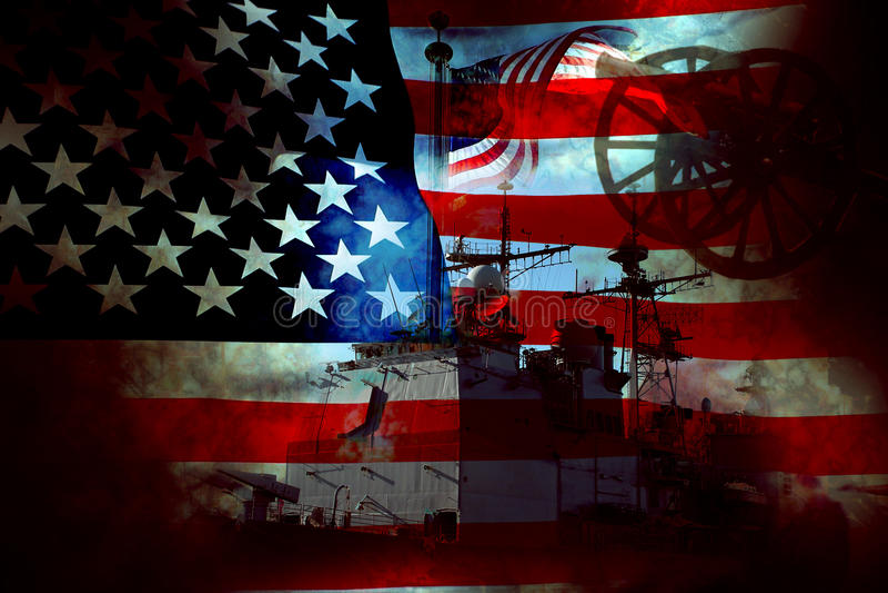 αμερικανικός πόλεμος πα&ta στοκ φωτογραφίες