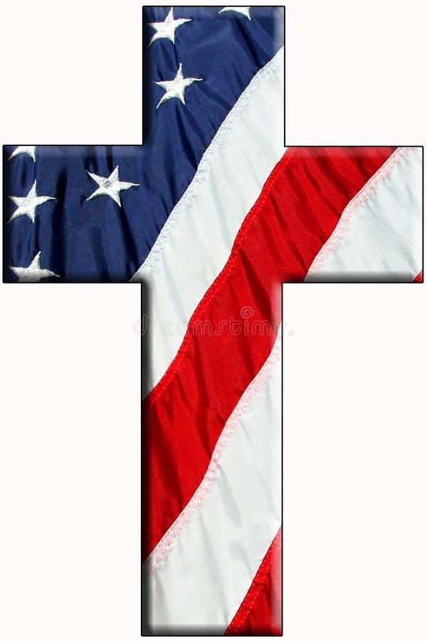 αμερικανικός σταυρός στοκ εικόνες με δικαίωμα ελεύθερης χρήσης