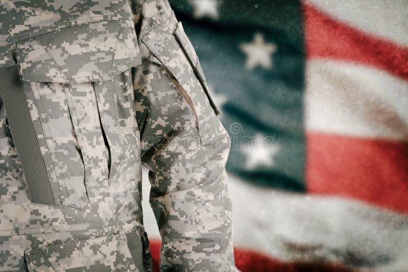 αμερικανικός στρατιώτης στοκ φωτογραφία