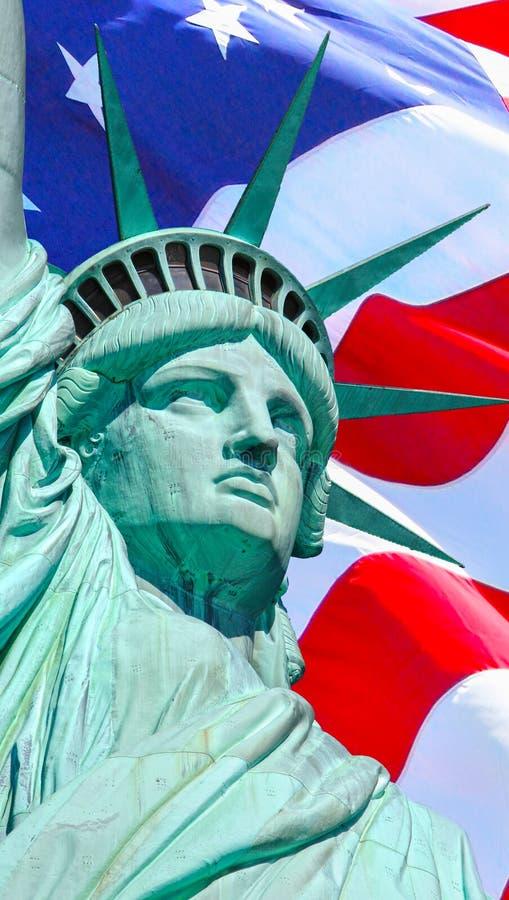 Αμερικανικό άγαλμα της ελευθερίας στοκ εικόνες με δικαίωμα ελεύθερης χρήσης