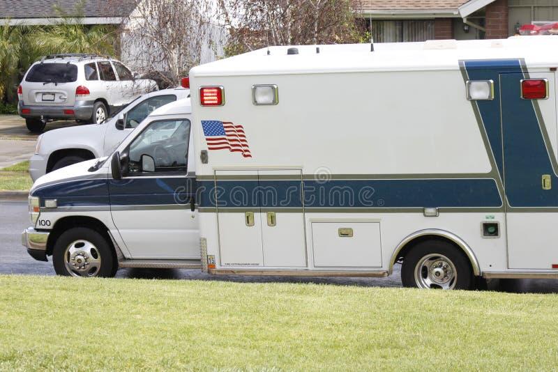 Αμερικανικό ασθενοφόρο στοκ φωτογραφία