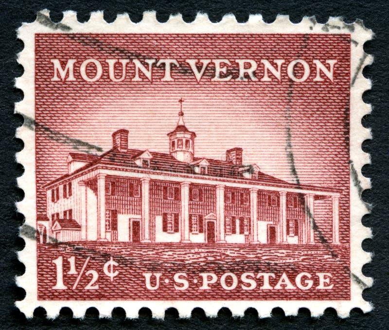 Αμερικανικό γραμματόσημο ορών Βέρνον στοκ φωτογραφία με δικαίωμα ελεύθερης χρήσης