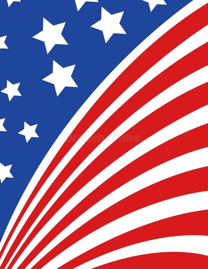 αμερικανικό διάνυσμα ύφο&upsi ελεύθερη απεικόνιση δικαιώματος