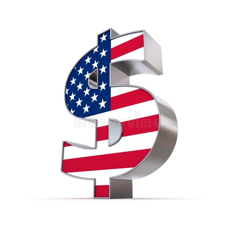 αμερικανικό δολάριο διανυσματική απεικόνιση