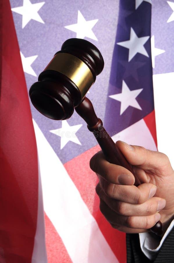 Αμερικανικό δικαστήριο στοκ φωτογραφία με δικαίωμα ελεύθερης χρήσης