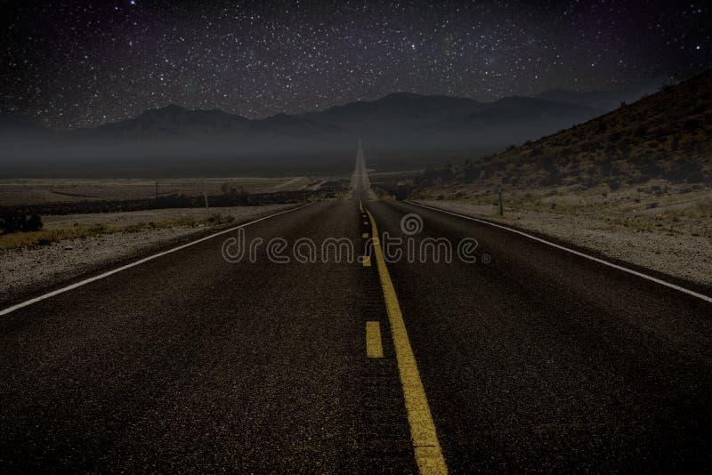Αμερικανικό οδικό ταξίδι στοκ εικόνα
