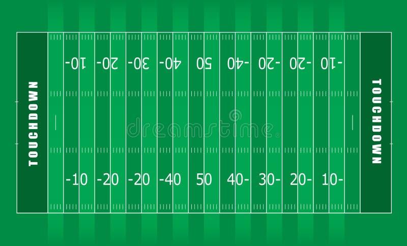 αμερικανικό ποδόσφαιρο π& απεικόνιση αποθεμάτων