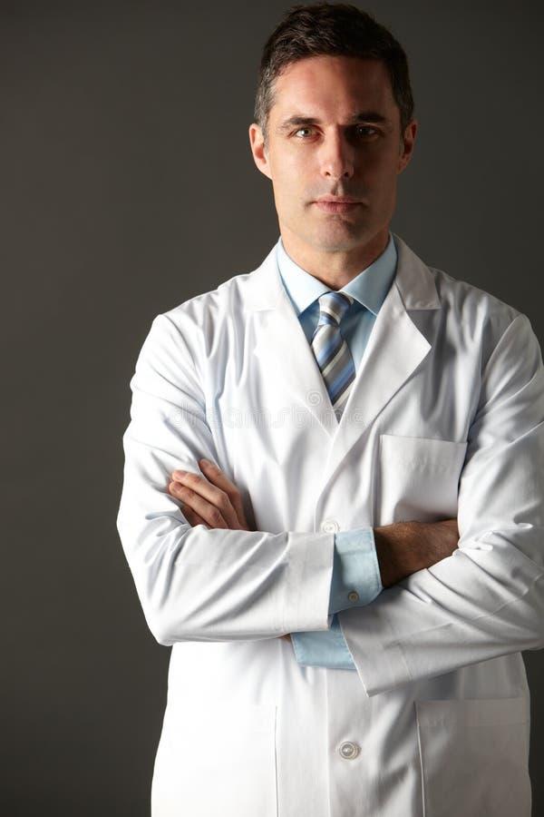 Αμερικανικό πορτρέτο στούντιο γιατρών στοκ φωτογραφία με δικαίωμα ελεύθερης χρήσης