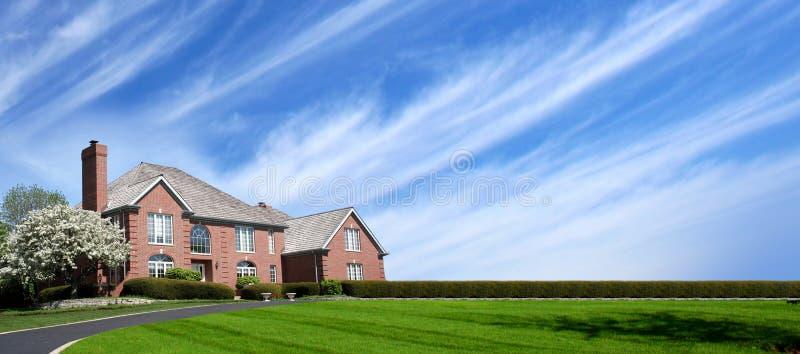 αμερικανικό σπίτι στοκ εικόνες με δικαίωμα ελεύθερης χρήσης