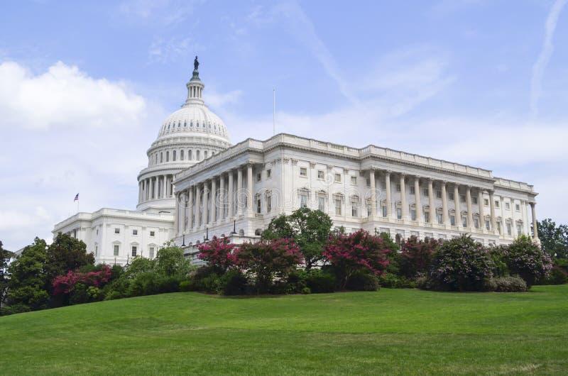 Αμερικανικό Capitol κτήριο - Ουάσιγκτον DC - ΗΠΑ στοκ εικόνα