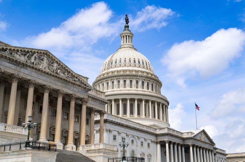 Αμερικανικό Capitol κτήριο - Ουάσιγκτον DC - ΗΠΑ στοκ εικόνες