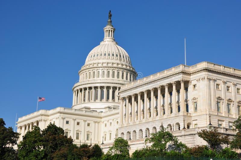 Αμερικανικό Capitol κτήριο στοκ φωτογραφία με δικαίωμα ελεύθερης χρήσης