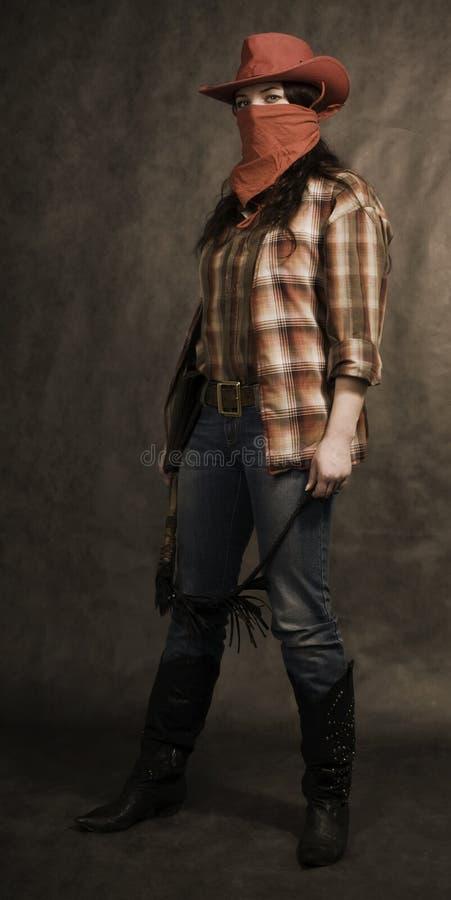 αμερικανικό cowgirl στοκ εικόνα με δικαίωμα ελεύθερης χρήσης