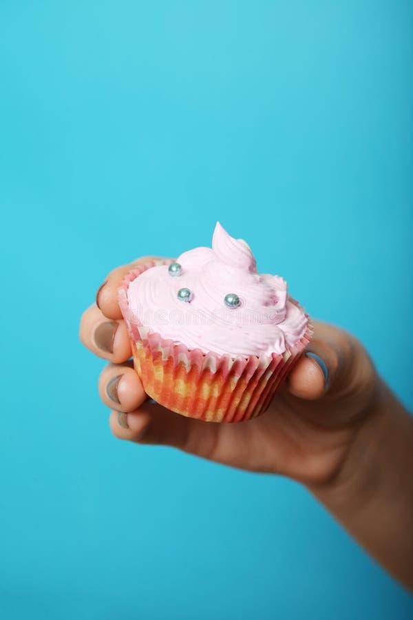 Αμερικανικό muffin, cupcake, σπιτικό γλυκό pastriesю στοκ εικόνες