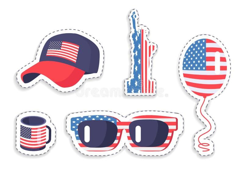 Αμερικανικό Symbolics στα διάφορα εξαρτήματα καθορισμένα απεικόνιση αποθεμάτων