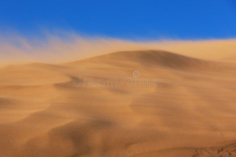 αμμοθύελλα στοκ εικόνα