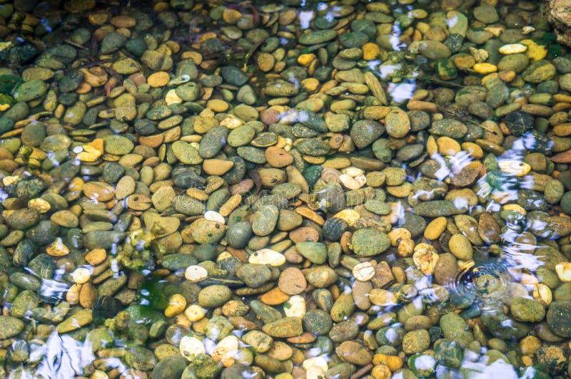 Αμμοχάλικο στο νερό στοκ φωτογραφία με δικαίωμα ελεύθερης χρήσης