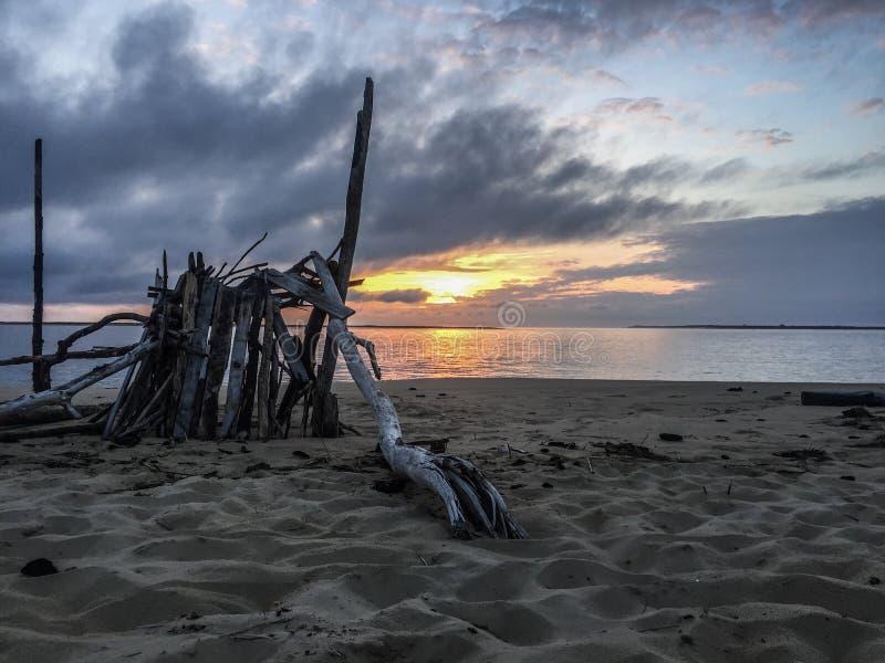 Αμμόλοφοι άμμου Archachon Γαλλία στοκ εικόνες