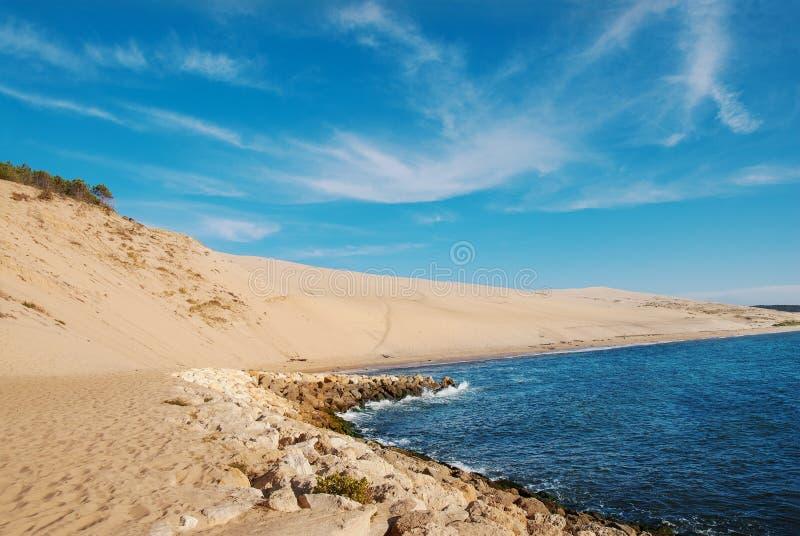 Αμμόλοφος Pylat στο Αρκασόν στοκ εικόνες