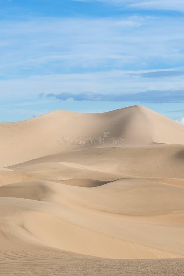 Αμμόλοφοι άμμου στην κοιλάδα 3 θανάτου στοκ φωτογραφία με δικαίωμα ελεύθερης χρήσης