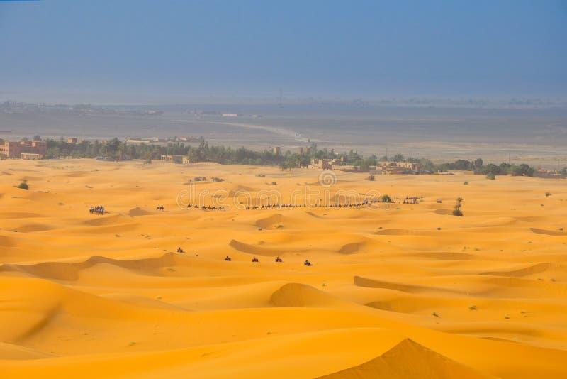 αμμόλοφοι Σαχάρα ερήμων στοκ φωτογραφίες με δικαίωμα ελεύθερης χρήσης