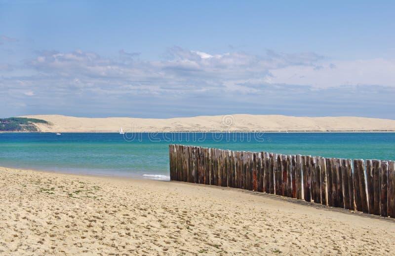 Αμμόλοφος Pilat στοκ εικόνα με δικαίωμα ελεύθερης χρήσης
