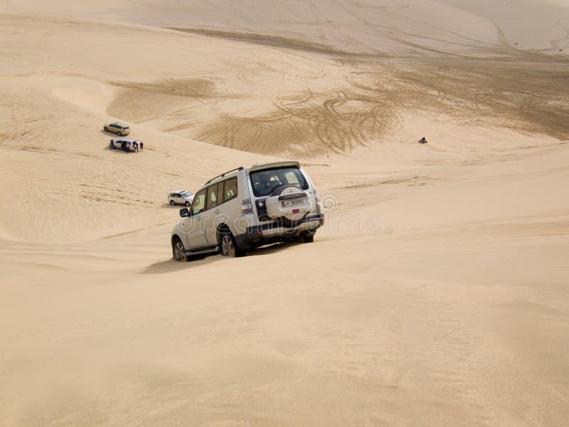 Αμμόλοφων στην έρημο στοκ εικόνα