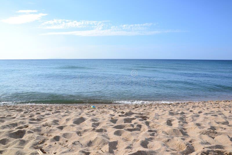 Αμμώδης παραλία στοκ φωτογραφία