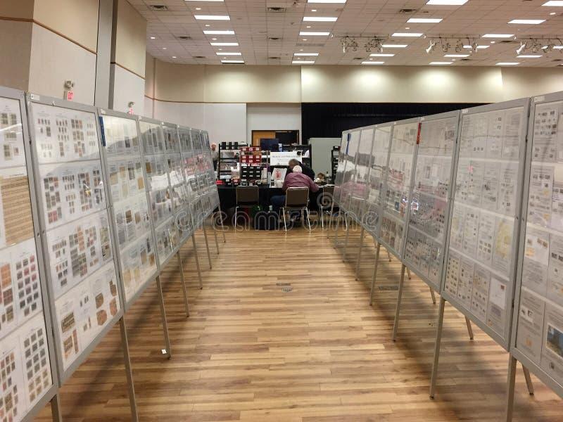 Αμπέλων έκθεση & χρηματιστήριο 30ων γραμματοσήμων ετήσια στοκ φωτογραφία