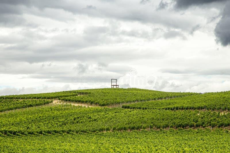 Αμπελώνες της περιοχής Kaiserstuhl, baden-Wurttemberg, Γερμανία στοκ φωτογραφίες με δικαίωμα ελεύθερης χρήσης