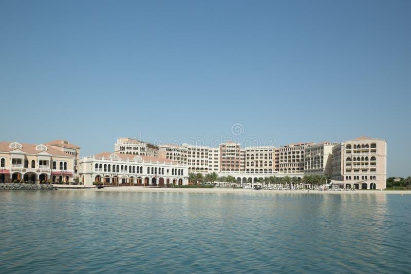 Αμπού Ντάμπι, Ηνωμένα Αραβικά Εμιράτα, στις 20 Μαΐου 2017: Ξενοδοχείο ritz-Carlton στοκ εικόνες