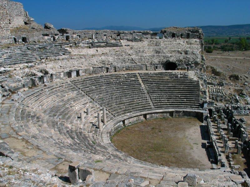 αμφιθέατρο ελληνικά στοκ φωτογραφία με δικαίωμα ελεύθερης χρήσης