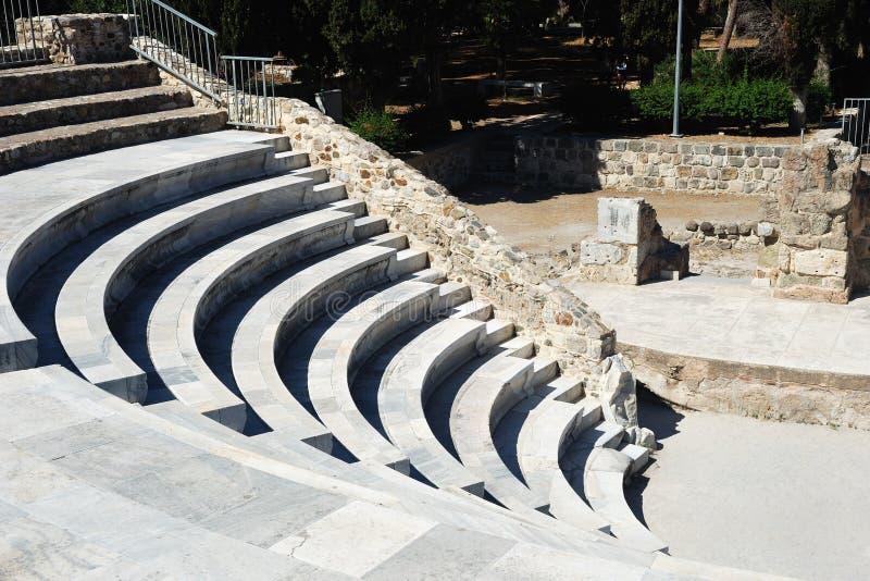 Αμφιθέατρο σε Kos στοκ εικόνες