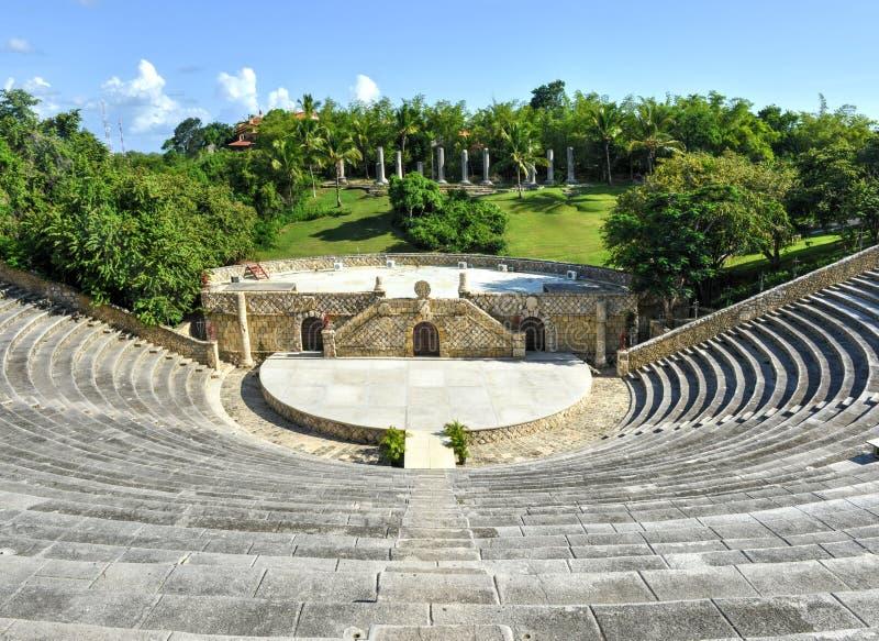 Αμφιθέατρο, Altos de Chavon, Λα Romana, Δομινικανή Δημοκρατία στοκ φωτογραφία