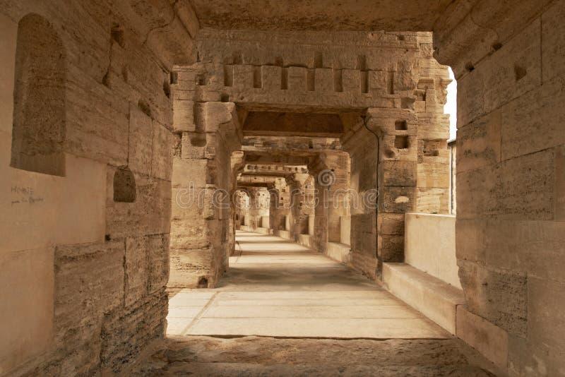 Αμφιθέατρο Arles, Γαλλία στοκ εικόνα