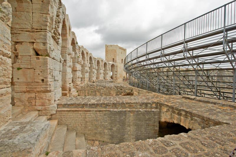 Αμφιθέατρο Arles, Γαλλία στοκ εικόνες