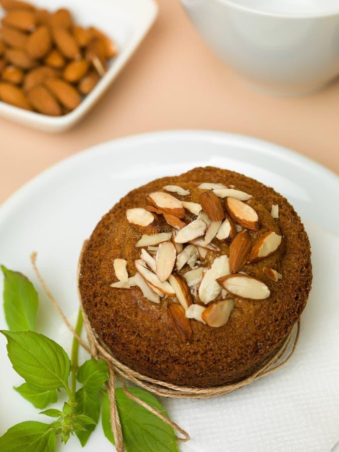 Αμύγδαλα Cupcake στοκ φωτογραφία με δικαίωμα ελεύθερης χρήσης