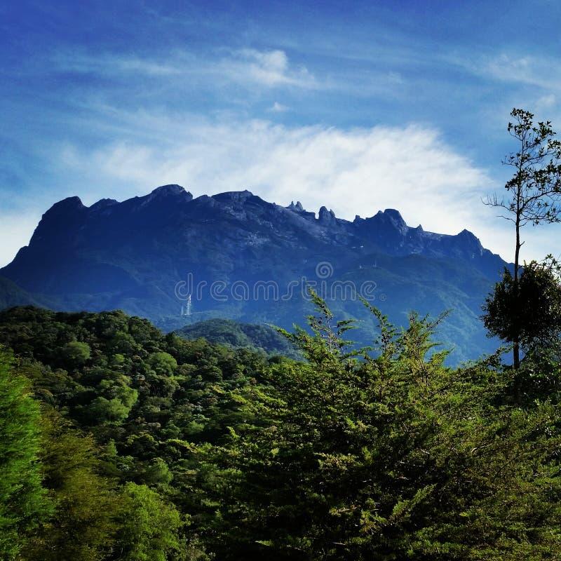 ΑΜ Kinabalu στοκ εικόνες