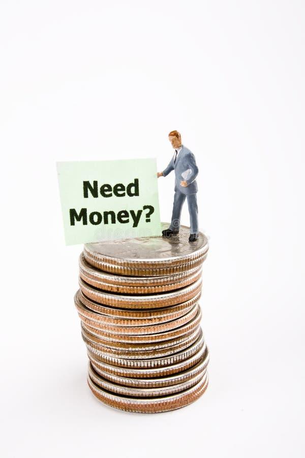 ανάγκη χρημάτων στοκ φωτογραφίες με δικαίωμα ελεύθερης χρήσης