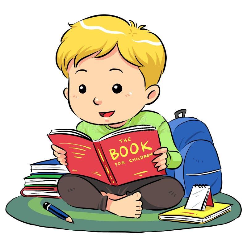Ανάγνωση ενός βιβλίου ελεύθερη απεικόνιση δικαιώματος